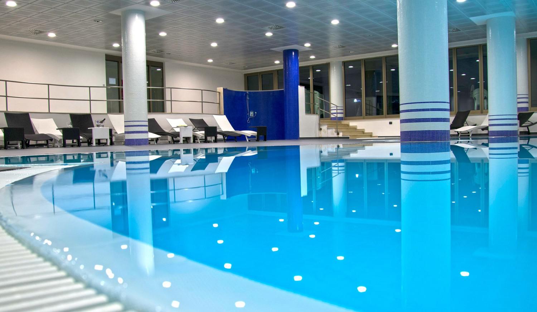 Il centro benessere del Park Hotel Elizabeth in Puglia